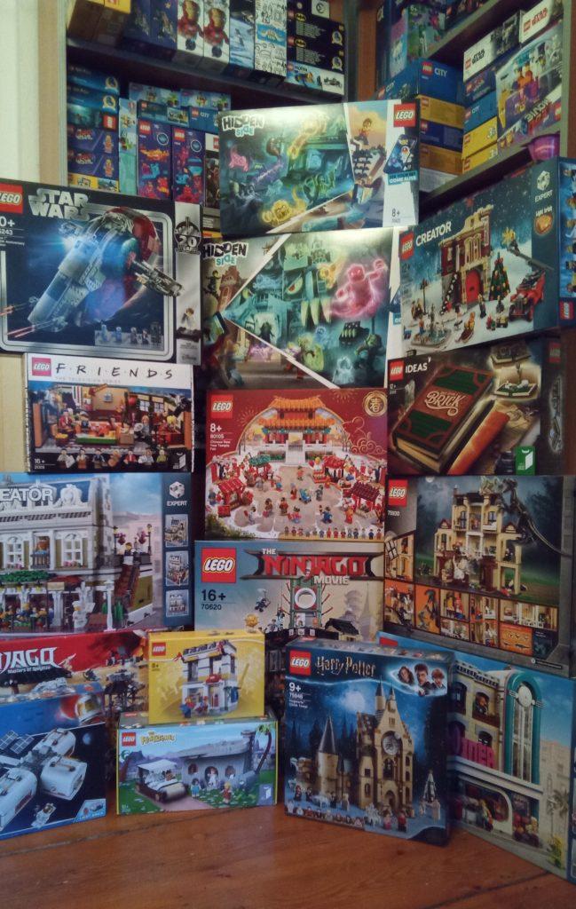 Man kann nie genug LEGO haben!