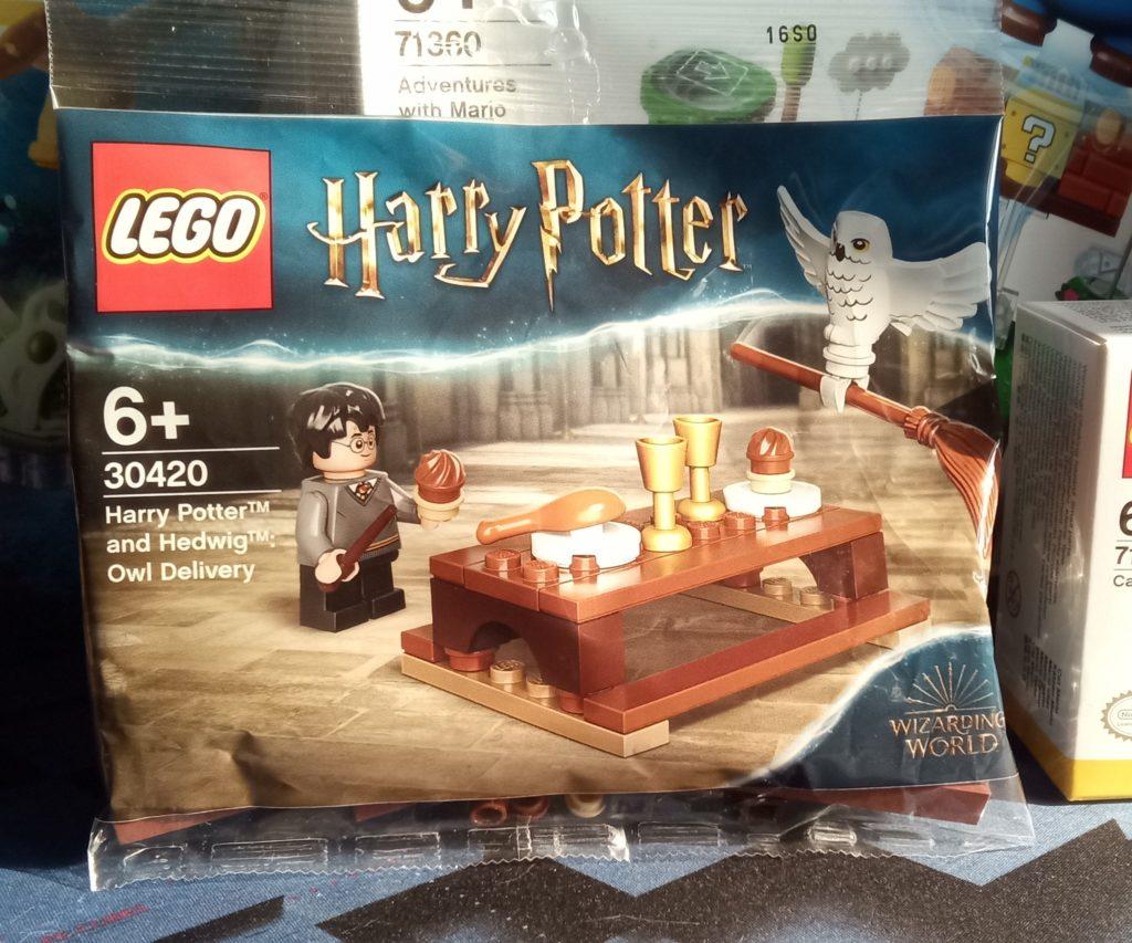 Harry Potter und Hedwig: Eulenlieferung