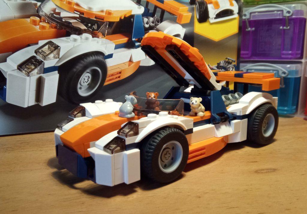 #31089 Creator 3in1 Rennwagen