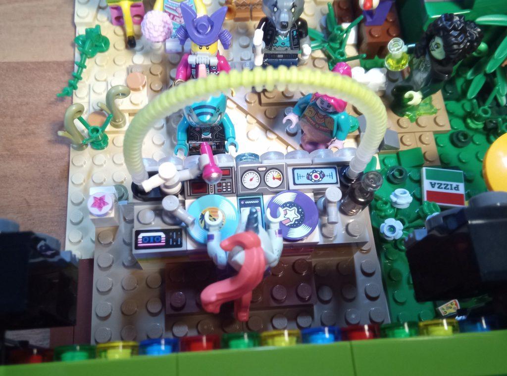 Noch ein Blick auf das DJ-Pult.
